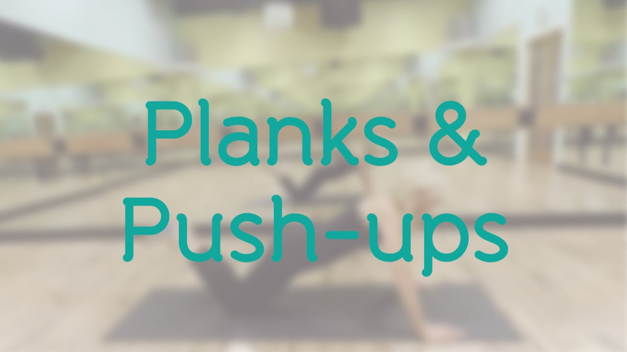 15-Minute Planks & Push-ups with Holly