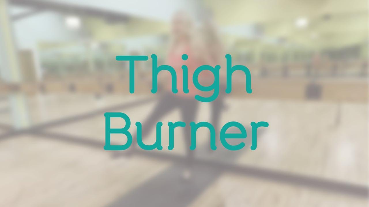 15-Minute Thigh Burner with Debra