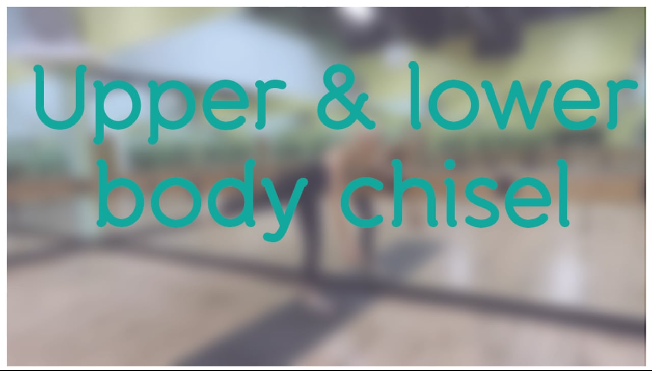 15-minute Upper & Lower Body Chisel with Holly