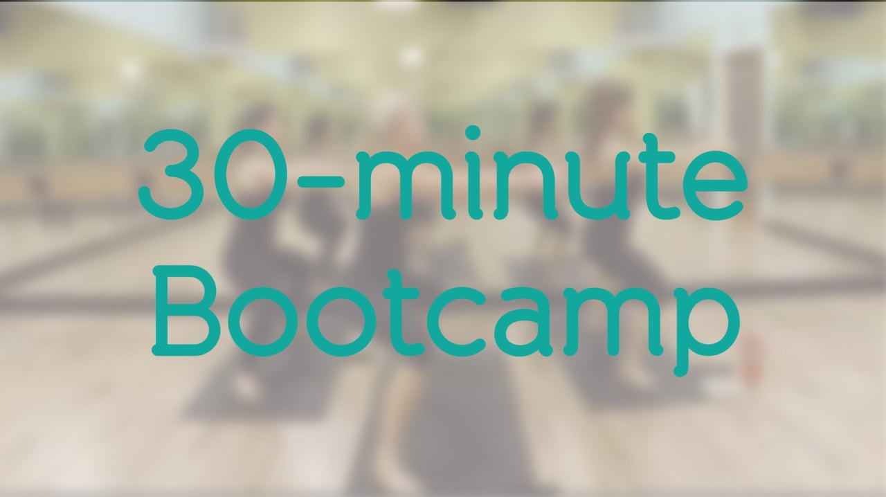 30-Minute Bootcamp with Holly