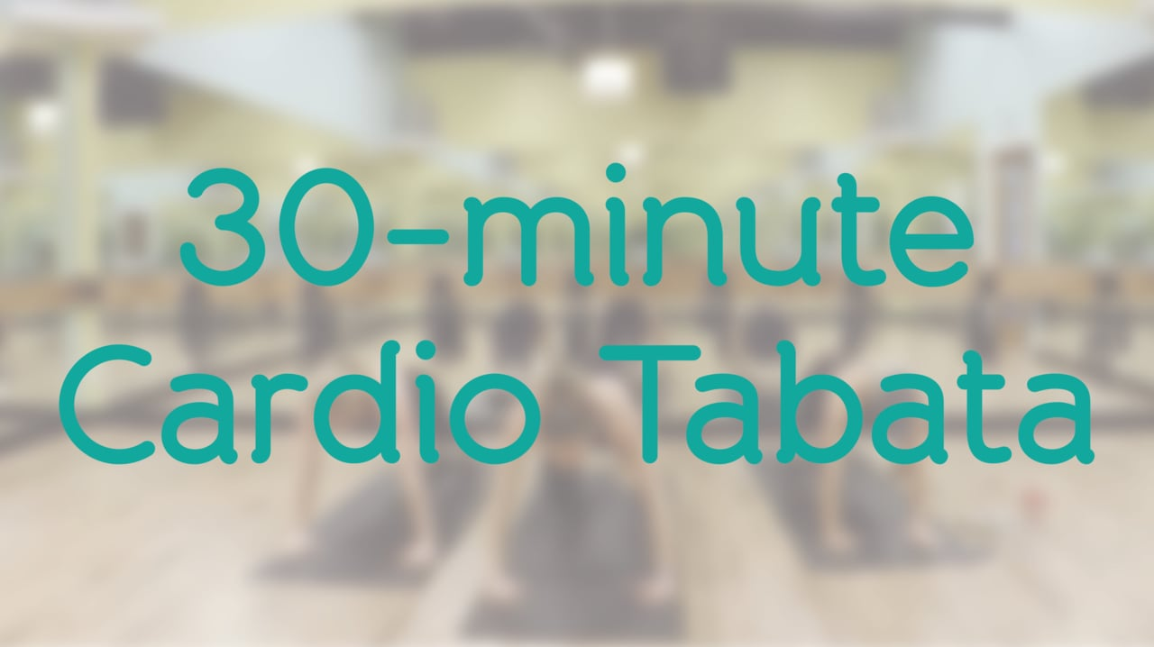 30-Minute Cardio Tabata with Dixie