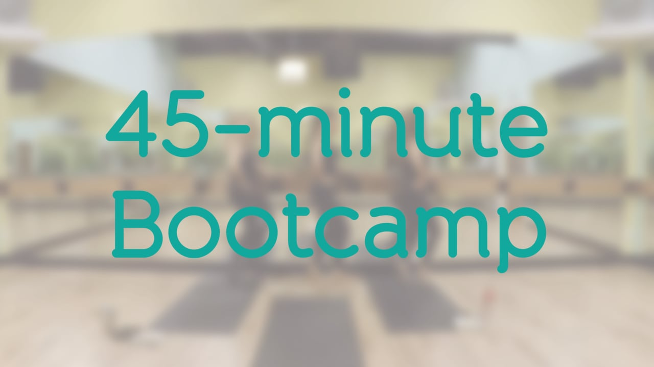 45-minute Bootcamp with Brooke