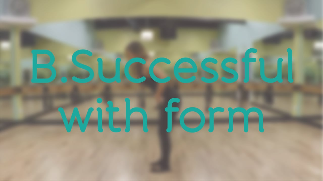 B.Successful with Form