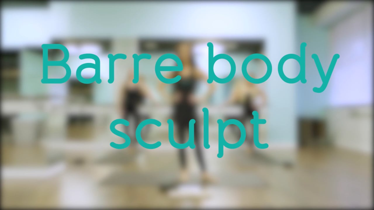Barre Body Sculpt with Ashley