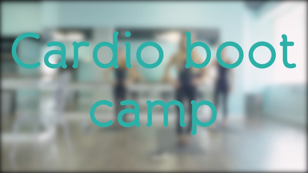 Cardio Boot Camp with Stephanie